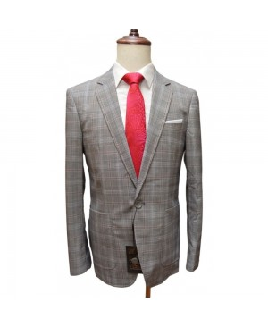 Bobo's By Bennetti Blazer - Checked Grey