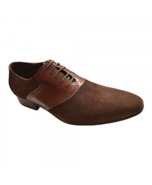 Berlusconi Suede Shoes - Brown